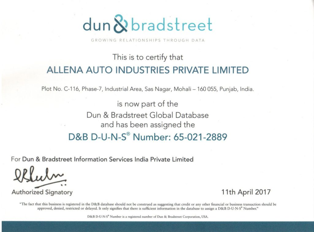 D&B D-U-N-S Number: 65-021-2889