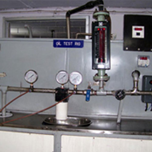 Particle Efficiency Test Rig With On line Particle Counter As per ISO 4548- 12